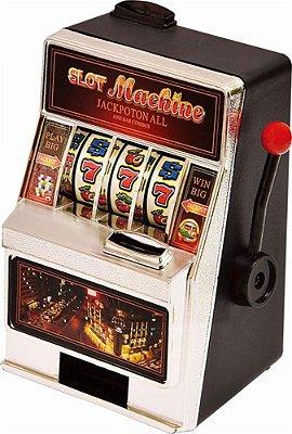 Slot Machine Coin Bank Cofre Moedas - Samsonico