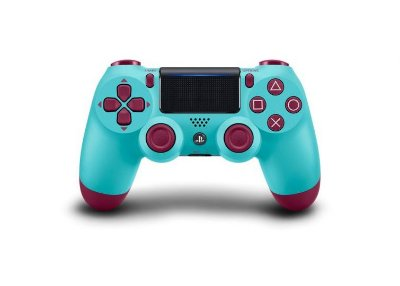Controle DualShock 4 Wireless Controller Berry Blue - PS4