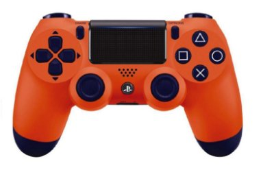 Controle DualShock 4 Wireless Controller Sunset Orange - PS4