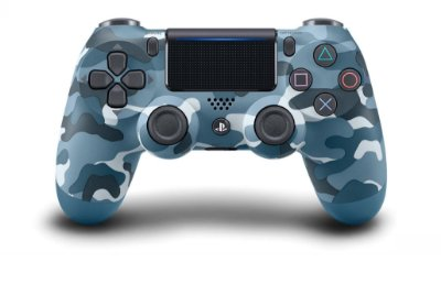 Controle DualShock 4 Wireless Controller Blue Camo - PS4