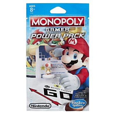 Monopoly Gamer Power Pack Bundle c/ 3 Figuras