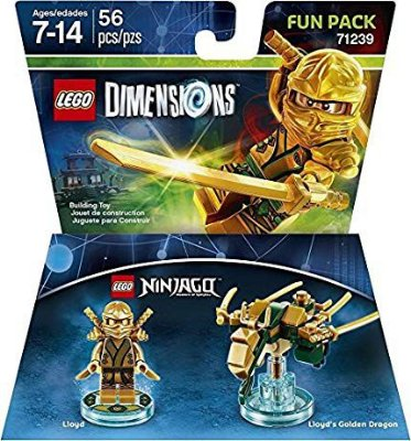 Ninjago Lloyd Fun Pack - Lego Dimensions - Outbox