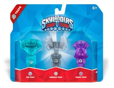 Skylanders Trap Team:  Air, Undead e Magic - Triple Trap Pack