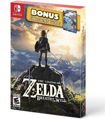 The Legend of Zelda Breath of the Wild Explorers Pack - Switch