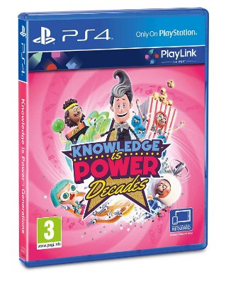 Knowledge is Power Decades Playlink - PS4