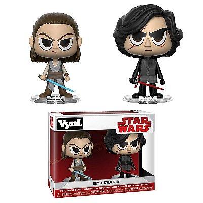 Funko Vynl Star Wars Rey & Kylo Ren 2-pack