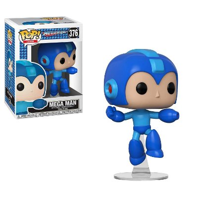 Funko Pop Megaman 376 Jumping Mega Man