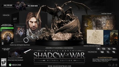 Middle-Earth Shadow of War Mithril Collectors Edition - Xbox One