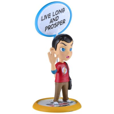 The Big Bang Theory Sheldon Cooper Q-Fig Diorama QMx