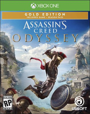 Assassins Creed Odyssey Gold Steelbook Edition - Xbox One