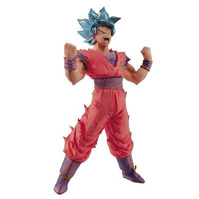 Dragon Ball Super Figure Goku Blue Kaioken Bandai