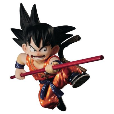 Dragon Ball Scultures Son Goku Figure Special Color Version Bandai