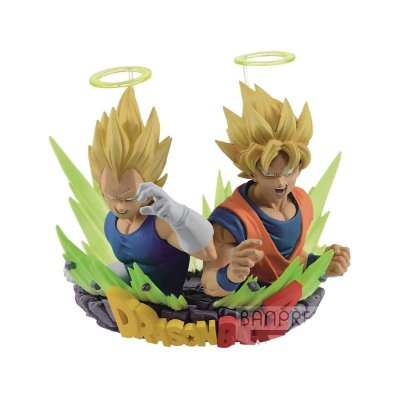 Dragon Ball Z  Super Sayajin Goku & Super Sayajin Vegeta Bandai