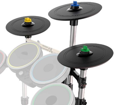 Rock Band 4 Pro-Cymbals Expansion Drum Kit Pratos Bateria