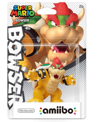 Amiibo Bowser - Super Mario Bros Series