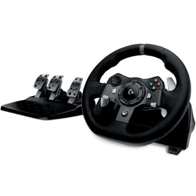 Volante c/ Pedais Logitech G920 Driving Force - Xbox One e PC