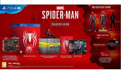 Marvel Spider-Man Collectors Edition Europeu - PS4