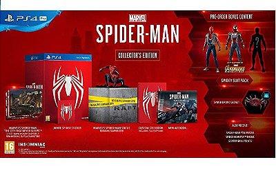 Marvel Spider-Man Collectors Edition Europeu - PS4