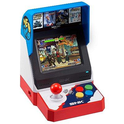 Neo Geo Arcade Mini Console Japonês c/ 40 jogos