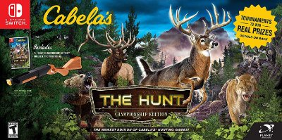 Cabela's The Hunt Championship Edition Bundle - Switch