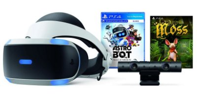 Playstation VR ZVr2 Astro Bot Rescue Mission + Moss Bundle