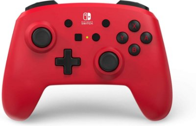 Controle PowerA Enhanced Wireless Red - Switch