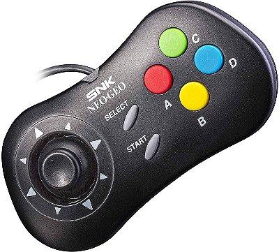 Controle Neo Geo Mini Pad - Black (Preto)