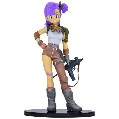 Dragon Ball Sculture Bulma Bandai