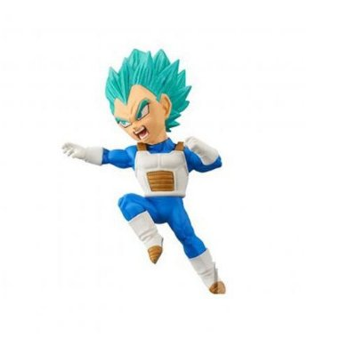 Dragon Ball Heroes Figure Wcf Vegeta Blue Bandai