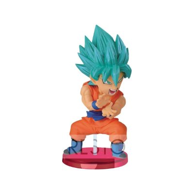 Dragon Ball Wcf Kamehameha Goku Saiyajin Blue Bandai