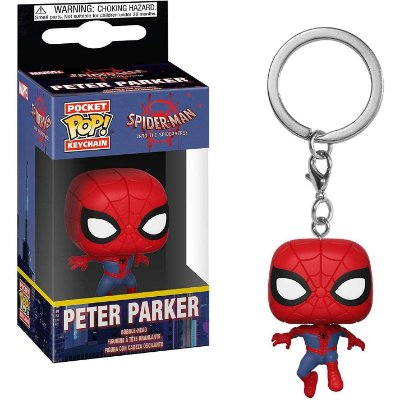 Chaveiro Funko Pocket Pop Spider-Man Peter Parker