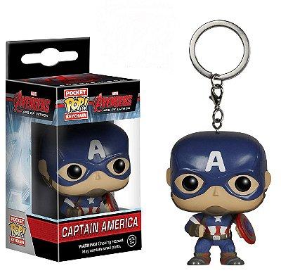 Chaveiro Funko Pocket Pop Marvel Avengers 2 Cap America