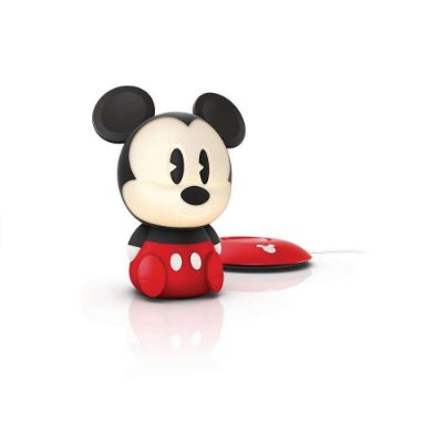 Abajur Portátil Disney SoftPals Mickey Nightlight Philips