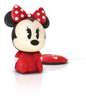 Abajur Portátil Disney SoftPals Minnie Nightlight Philips