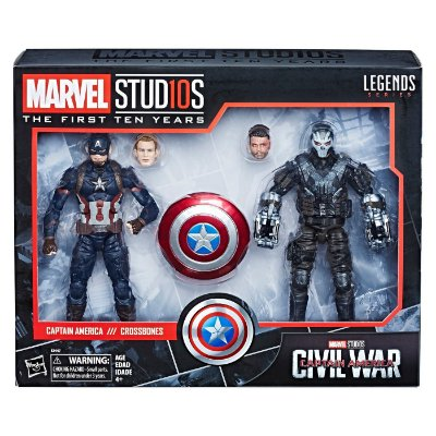 Marvel Captain America Civil War Captain America Crossbones 2pk