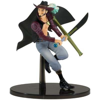 Figura One Piece World Figure Colosseum Mihawk - Bandai