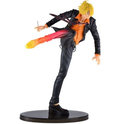 Figura One Piece Sculture Sanji Diable Jambe Color - Bandai