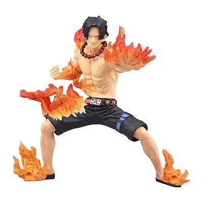 Figura One Piece Abiliators Portgas D Ace - Bandai