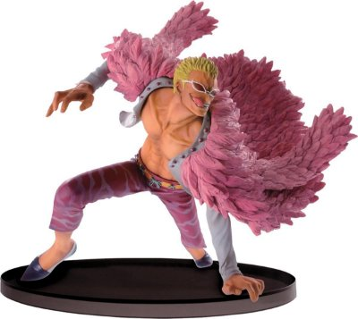 Figura One Piece Sculture Big Zoukeio Sp Donquixote Doflamingo - Bandai