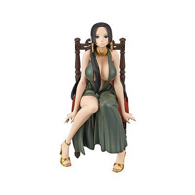 Figura One Piece Boa Hancock Black Dress - Bandai