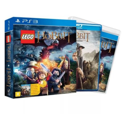 Lego The Hobbit - PS3 + Blu-ray Filme