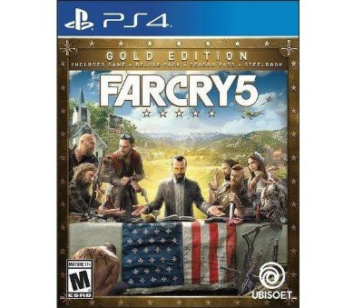 Far Cry 5 Steelbook Gold Edition - PS4