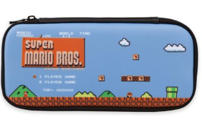 Traveler Case Stealth Kit 8-Bit Mario PowerA - Switch