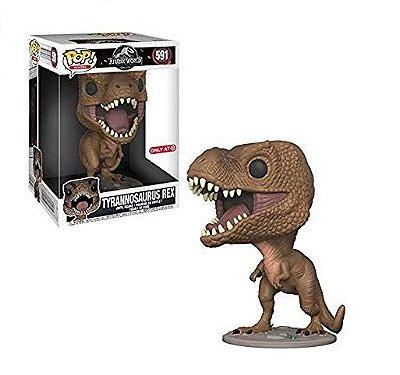 "Funko Pop Jurassic Park 591 Tyrannosaurus Rex 10""Super Sized"
