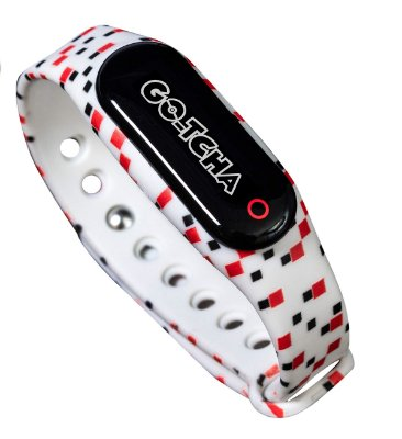 Pulseira Pokemon Go GoTcha Plus LED Touch Screen