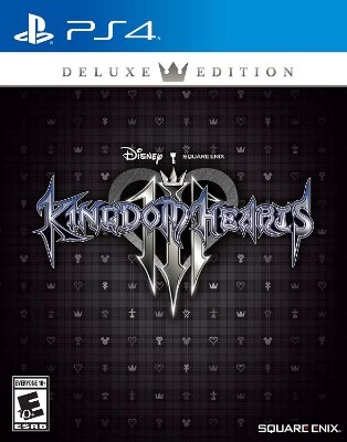 Kingdom Hearts 3 III Deluxe Edition - PS4