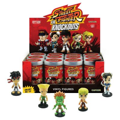 Action Figure Street Fighter Lil Knock-Out (Individual Surpresa)
