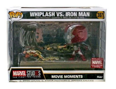 Funko Pop Marvel Studios 361 Whiplash Vs Iron Man