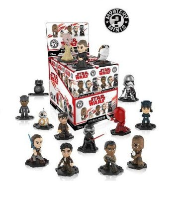 Funko Mystery Mini Star Wars Series 2 - 1 Boneco Misterioso