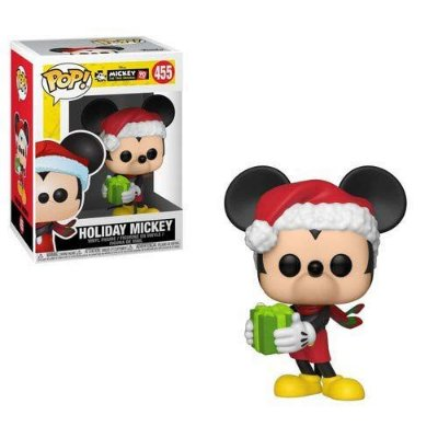 Funko Pop Disney Mickey's 90th 455 Holiday Mickey